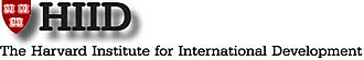 Harvard Institute for International Development - Image: HIID logo