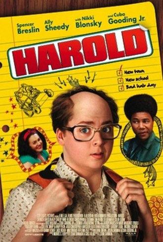 Harold (film) - Theatrical release poster