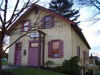 Hastings Mill - Hastings Mill store museum, now on Point Grey Road