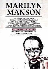 Marilyn Manson Tour Dates