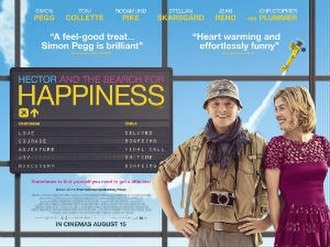 Hector and the Search for Happiness (film) - Theatrical release poster