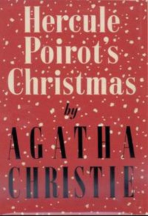 Hercule Poirot's Christmas - Dust-jacket illustration of the first UK edition