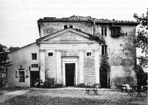 Monte Cavo - Hotel Monte Cavo at the beginning of the 20th century.