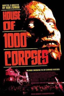 House of 1000 Corpses poster.JPG