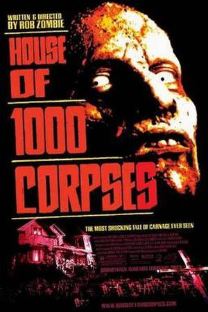 House of 1000 Corpses - Theatrical release poster