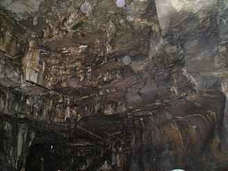 Howe Caverns - Inside the caverns