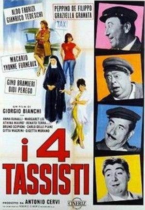 I 4 tassisti - Image: I 4 tassisti