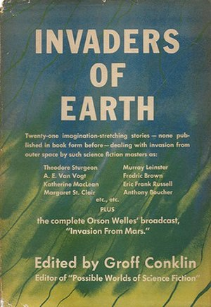 Invaders of Earth - cover of first edition