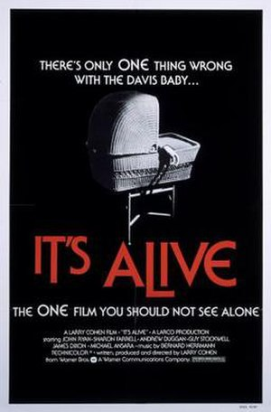 It's Alive (1974 film) - Theatrical release poster