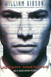 Johnny Mnemonic 1980s William Gibson short story