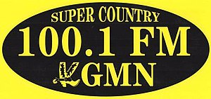 KGMN - Image: KGMN Super Country 100.1 logo