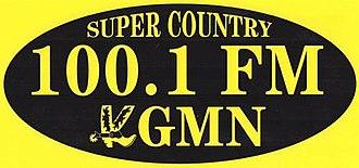 KGMN - Image: KGMN Super Country 100.1 logo