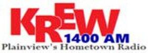 KREW - Image: KREW 1400AM logo