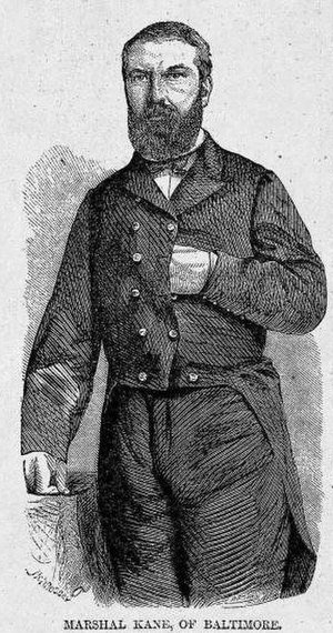 George Proctor Kane - The image of Marshall Kane in Harper's Weekly, July 13, 1861, p. 445, c.1., reprinted in Harper's Pictorial History of the Civil War (1866 as Harper's Pictorial History of the Great Rebellion; 1894; reprint 1977), p. 88.