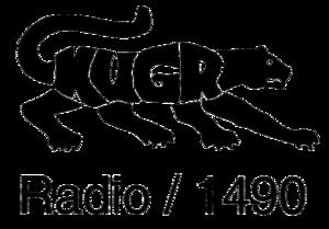 KUGR - Logo of KUGR, until the addition of Translator, 104.9 K285FG in Rock Springs, Wyoming (on September 27, 2013)