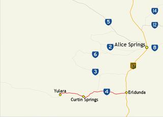 Lasseter Highway highway in the Northern Territory