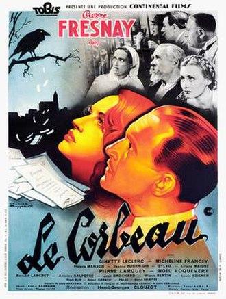 Le Corbeau - Image: Le corbeau release poster