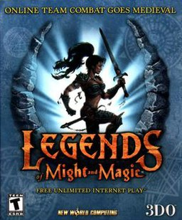 The Legends of Might and Magic box art
