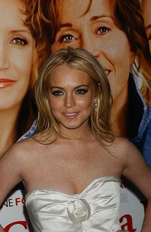 Lindsay Lohan - Lohan at the New York City premiere of Georgia Rule in May 2007.