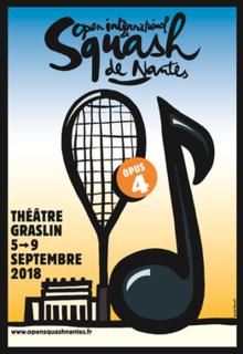 Mens Open International de Squash de Nantes 2018