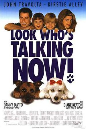Look Who's Talking Now - Theatrical release poster