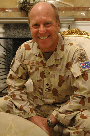 Chief of Joint Operations (Australia) - Image: MAJGEN Evans