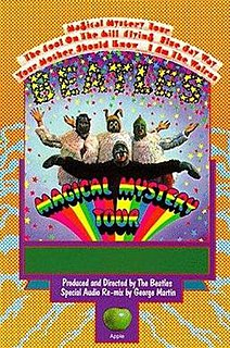 <i>Magical Mystery Tour</i> (film) 1967 television film starring The Beatles, directed by The Beatles and Bernard Knowles