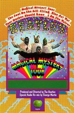 Magical Mystery Tour (film) - The 1988 VHS release cover art