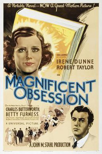 Magnificent Obsession (1935 film) - Movie poster