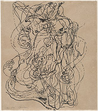 André Masson - Image: Masson automatic drawing