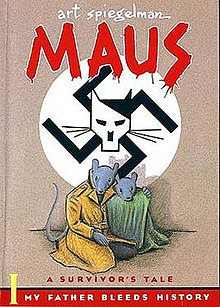 Cover of the first volume of Maus