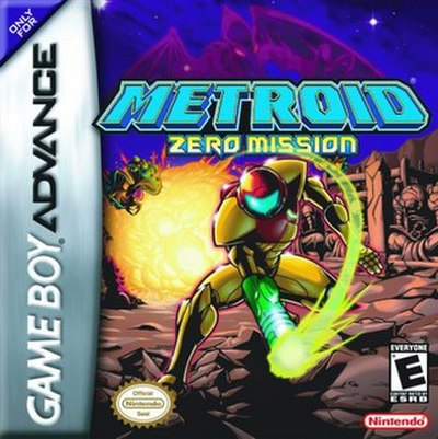 Picture of a game: Metroid: Zero Mission