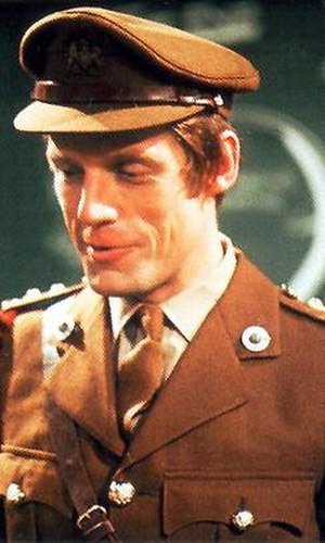 "Mike Yates - Image: Mike Yates (Richard Franklin) from ""Dr Who"""