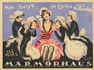 <i>Miss Beryll</i> 1921 film
