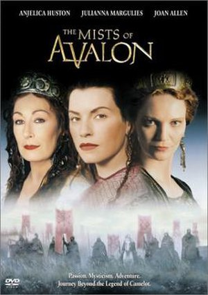 The Mists of Avalon (miniseries) - The Mists of Avalon DVD Cover