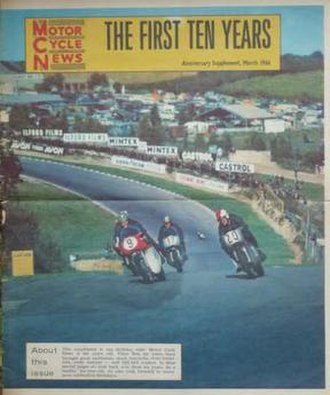 Motor Cycle News - Image: Motor Cycle News supplement 1966