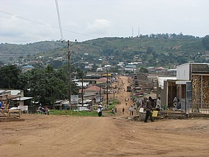 Mubende District - Mubende in August 2007
