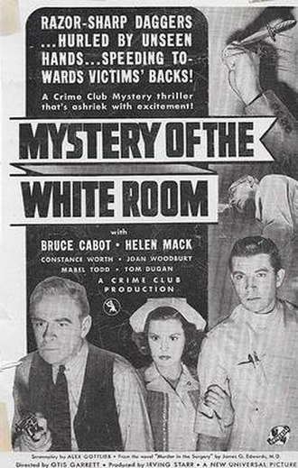 Mystery of the White Room - Image: Mystery of the White Room