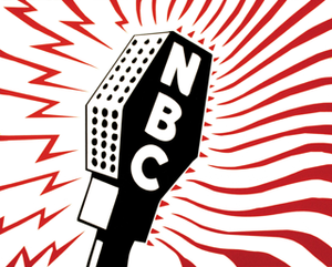 Logo of NBC - NBC television logo (1944)