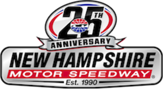 New Hampshire Motor Speedway - Logo used in 2015 to celebrate the track's 25th anniversary