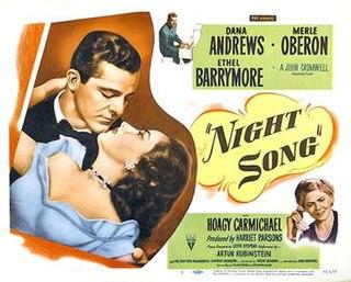 <i>Night Song</i> (1948 film) 1948 film by John Cromwell