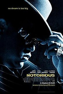 2009 American biopic about The Notorious B.I.G. directed by George Tillman, Jr.