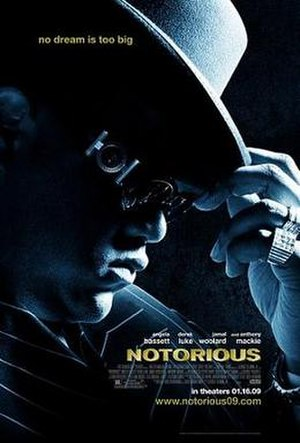 Notorious (2009 film) - Theatrical release poster