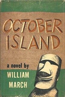 <i>October Island</i> novel by William March