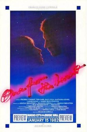 One from the Heart - Theatrical release poster