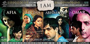 I Am (2010 Indian film) - Theatrical release poster