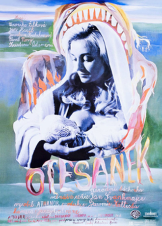 Little Otik - Czechoslovak theatrical release poster