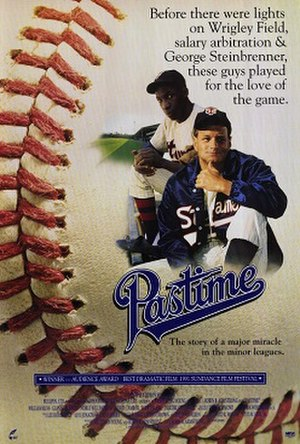 Pastime (film) - Theatrical release poster