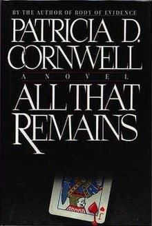 Patricia Cornwell - All That Remains.jpg