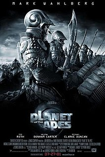<i>Planet of the Apes</i> (2001 film) 2001 science fiction film directed by Tim Burton